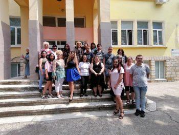 Випуск 2019/2020 г завърши първи гимназиален етап