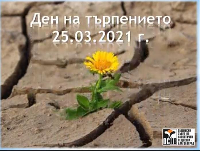 Нашето участие в инициатива на ОбСНВ Благоевград за Деня на търпението